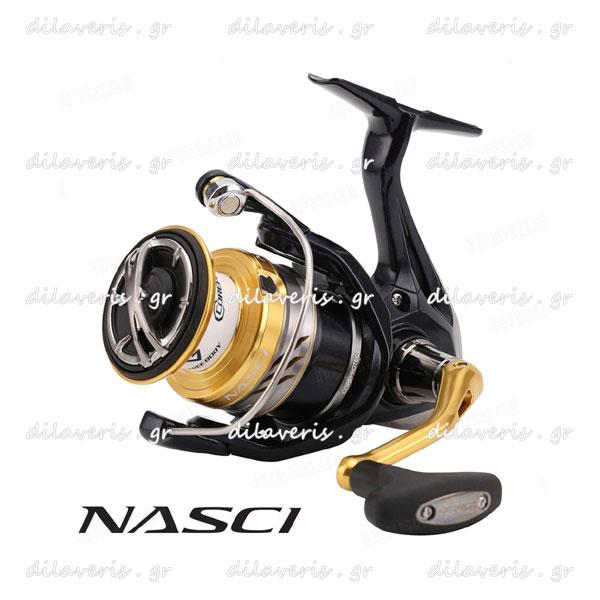 SHIMANO NASCI 2500 FB / NASCI 4000 FB