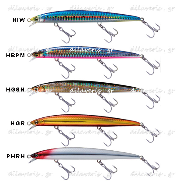 DUEL HARDCORE MINNOW F 110mm / 130mm