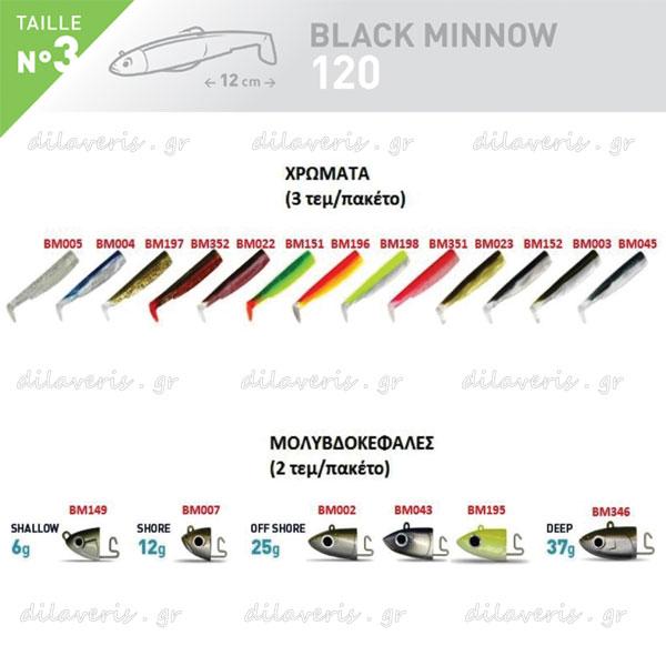ΣΙΛΙΚΟΝΗ FIIISH BLACK MINNOW No3
