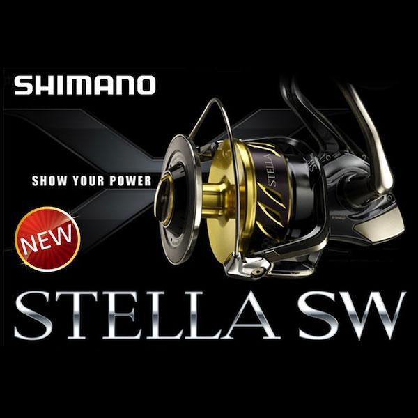 SHIMANO STELLA 14000 SW / 30000 SW