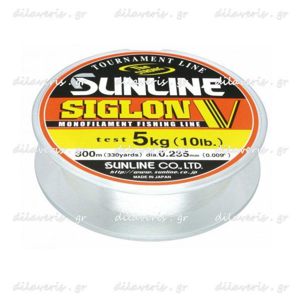 SUNLINE SIGLON V MONOFILAMENT 100m